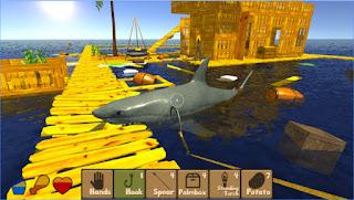 Raft Survival Simulator Premium MOD APK Unlocked Unlimited