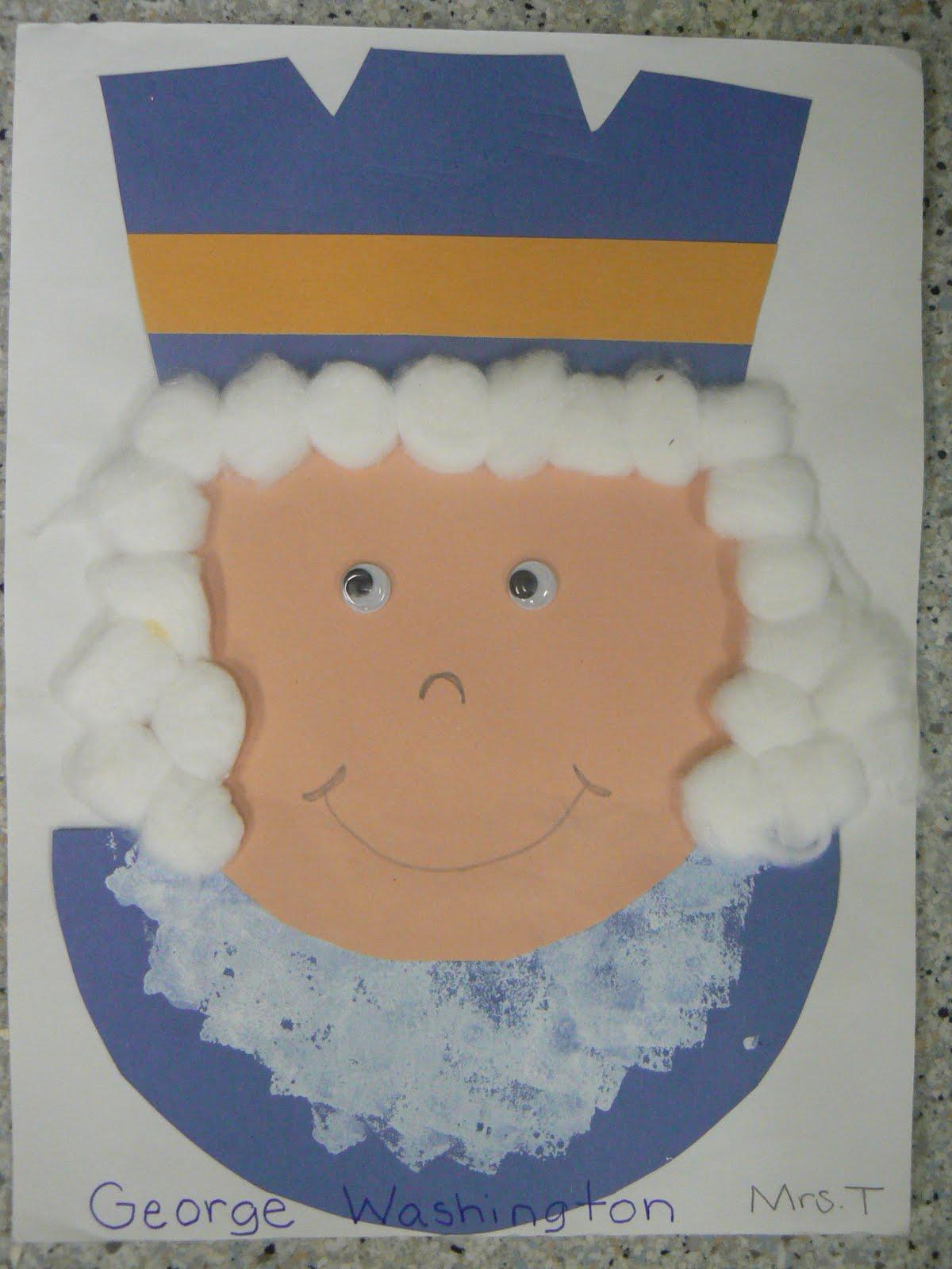 Mrs T S First Grade Class George Washington