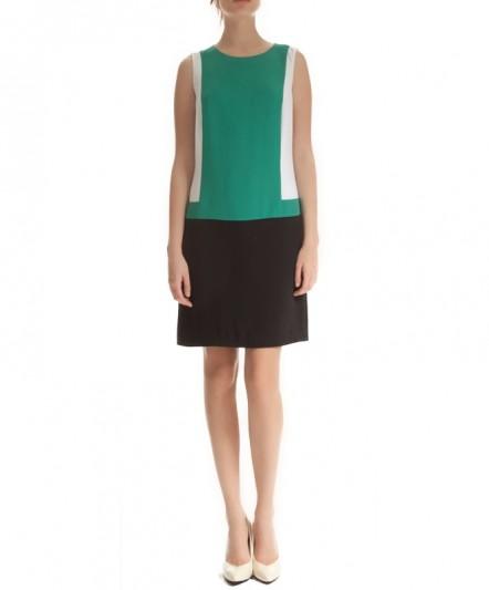 621e9620f6f34 koton, yeşil elbise, siyah beyaz elbise, klasik kesim, kısa elbise, günlük