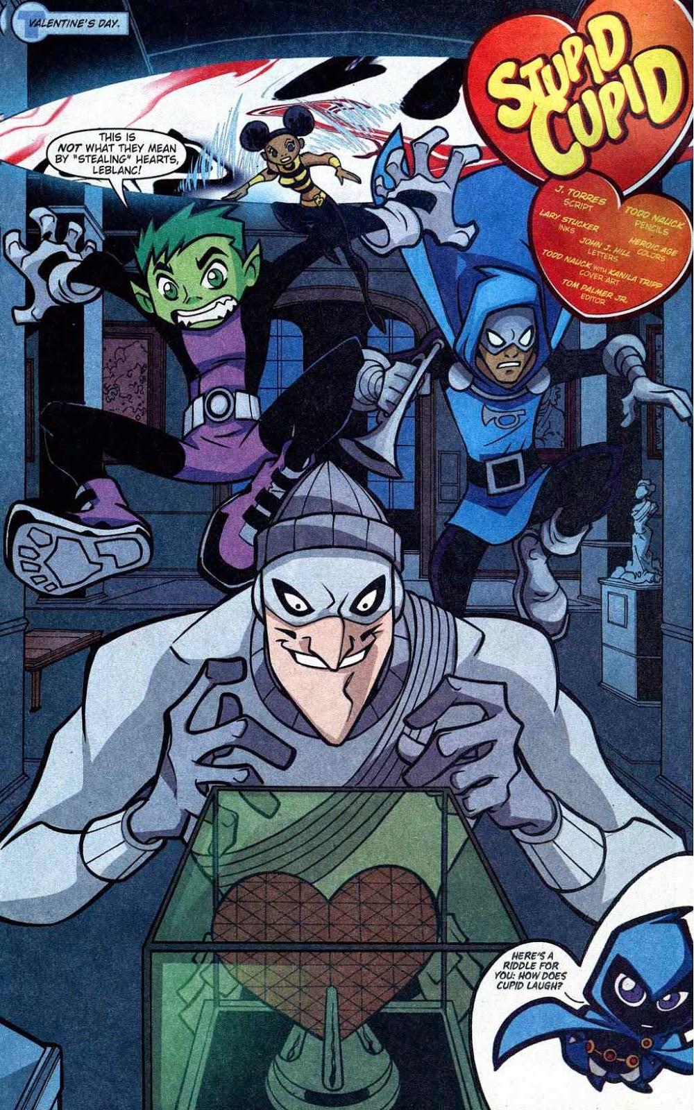 Teen Titans Go Comic Book Series May 2014-1439