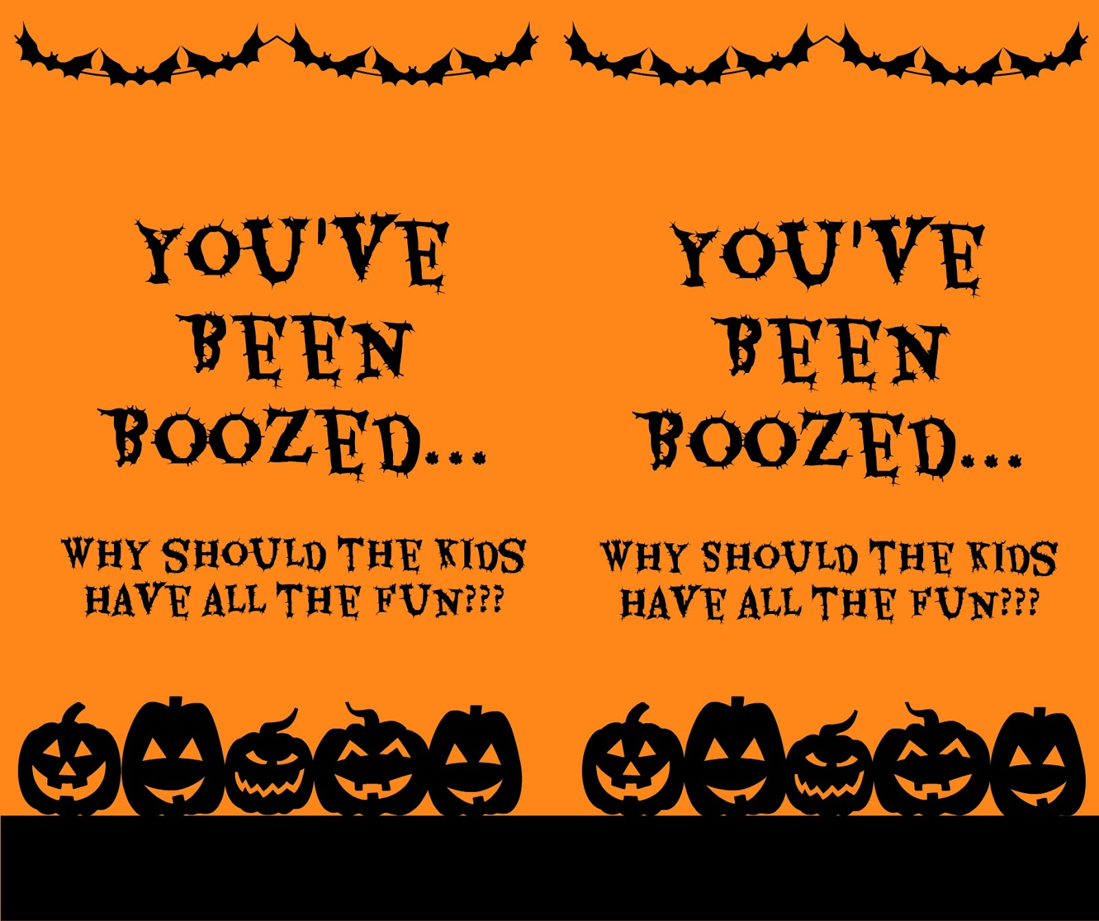 image relating to You've Been Boozed Printable referred to as The Content Minimal Hive: Youve Been Boozed [Edition 2]