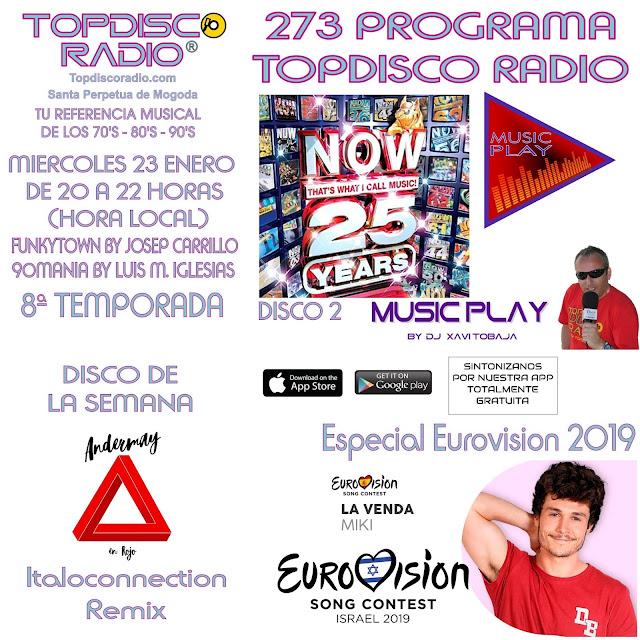 273 Progama Topdisco Radio