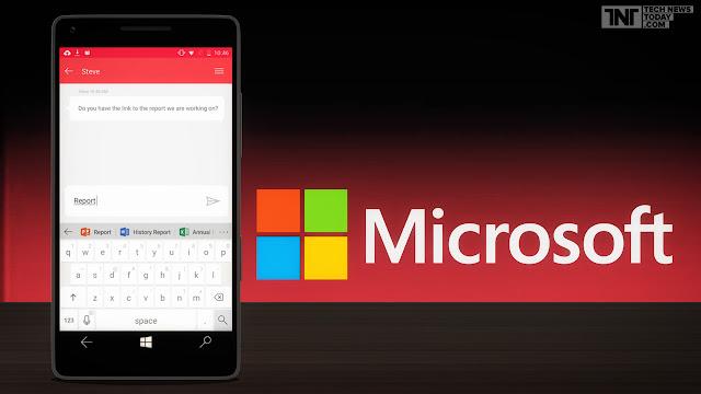 microsoft luncurkan aplikasi hub keyword