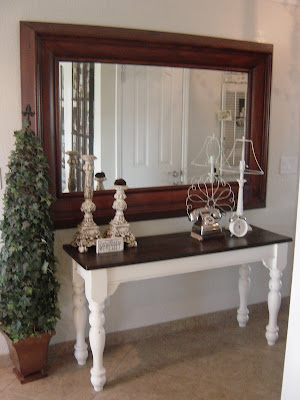 Shabby Chic Entry Table