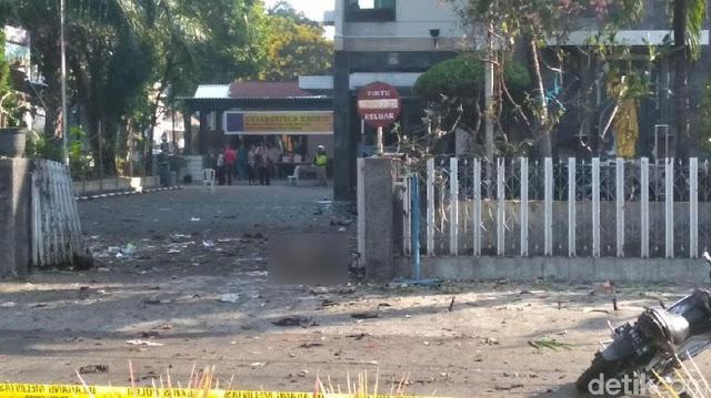 Ada Bom Bunuh Diri di Depan Gereja Santa Maria Surabaya, Anak-anak Jadi Korban