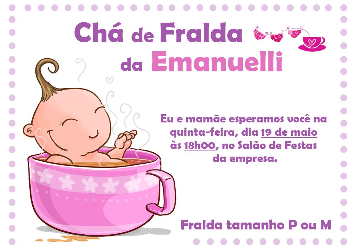 Mensagem De Convite De Cha De Fralda: Tami Monteiro Craft&Design: Janeiro 2012