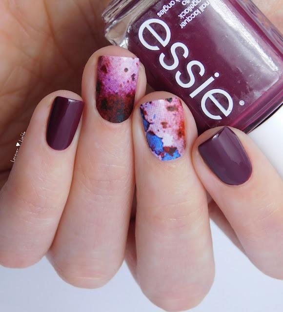 Essie Recessionista Nagel Design Thumbs Up Nail Wraps Rorschach