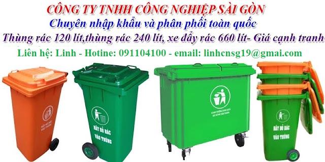 Diễn đàn rao vặt tổng hợp: Thùng rác nhựa công cộng phân phối toàn quốc giá cạnh U125-13