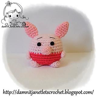piglet crochet pattern