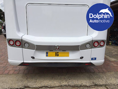 Parking Sensors Fitted to Fiat Motorhome