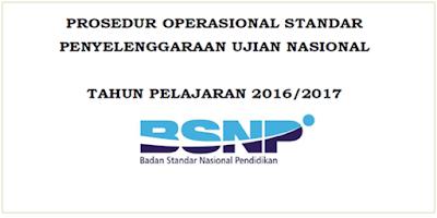 POS Ujian Nasional Tahun Pelajaran 2016/2017 BSNP