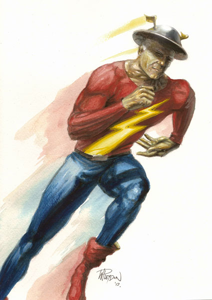 Will Pleydon Back To The Drawing Board Golden Age Flash