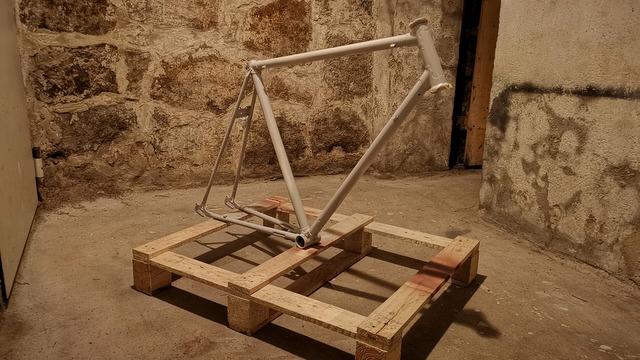 Fahrrad lackieren Sprühspachtel