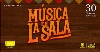 Música en LA SALA Música colombiana