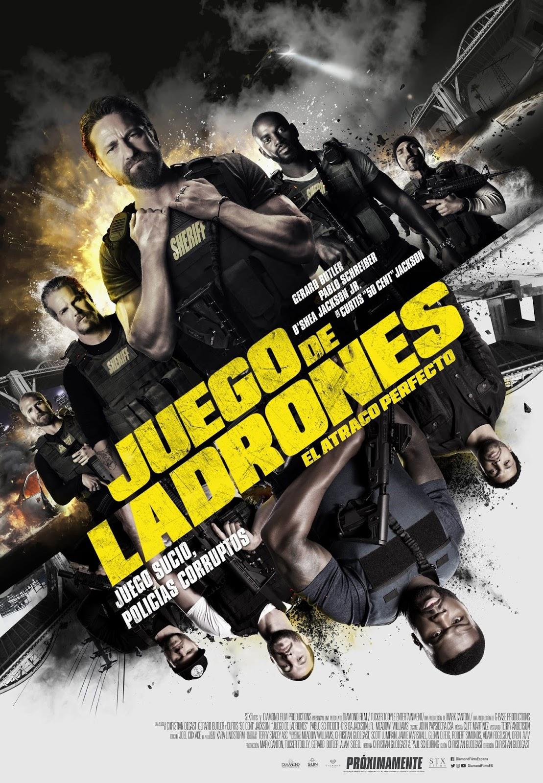 Juego de Ladrones (El Atraco Perfecto) (V.O.S) (2018)