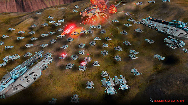 Ashes of the Singularity Gameplay Screenshot 2
