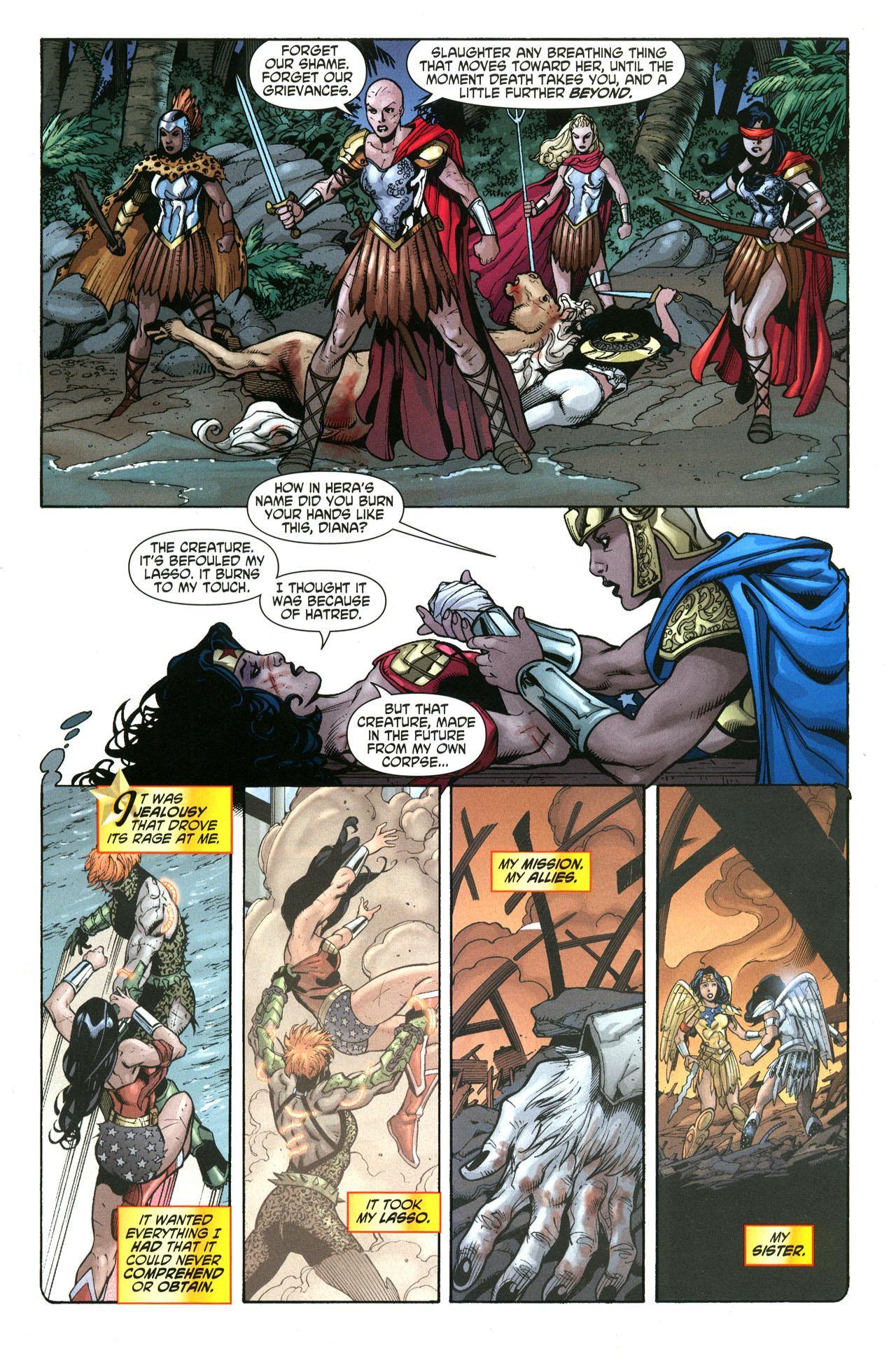 Read online Wonder Woman (2006) comic -  Issue #33 - 11