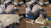Marcar y taladrar agujeros para pernos. http://www.enredandonogaraxe.com