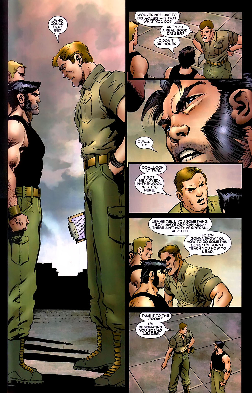 Read online Wolverine (2003) comic -  Issue #34 - 10