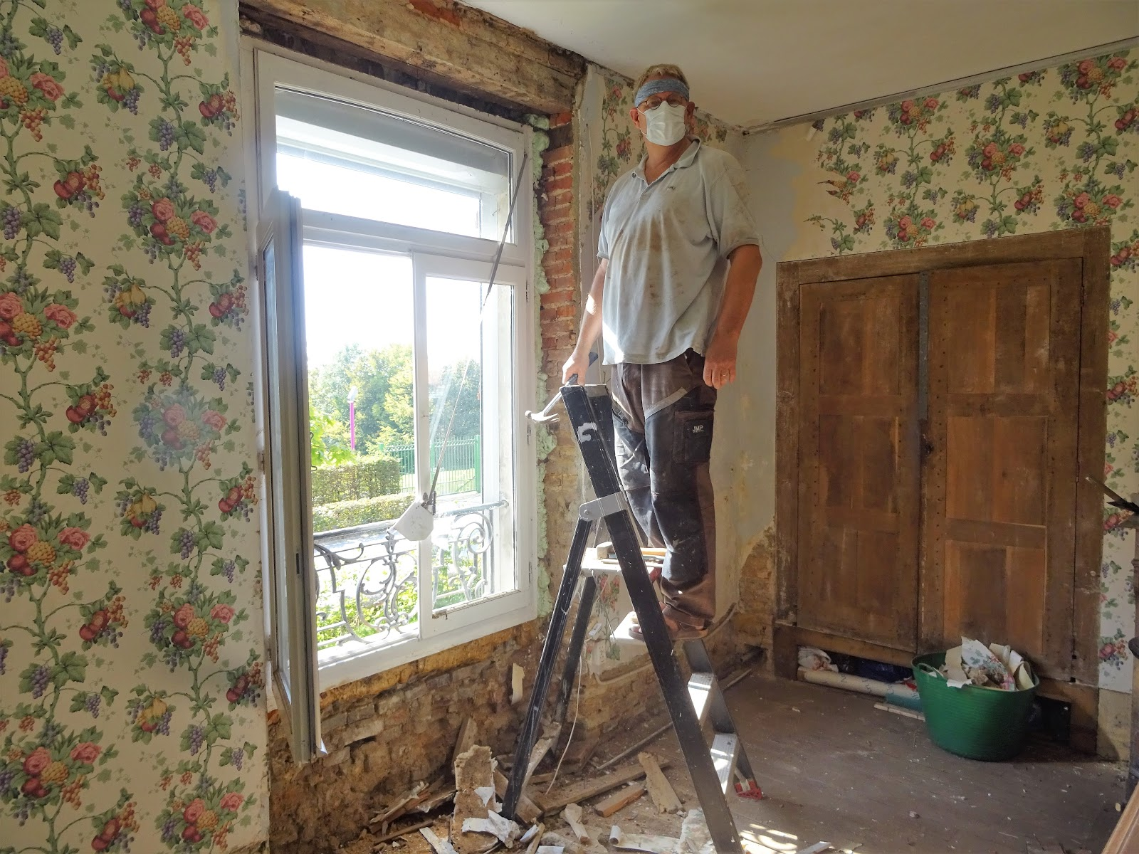 Grote Kast Eetkamer.Vakantiehuis Iviers 2017 Opknappen Eetkamer