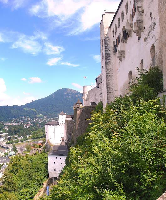 Salzburg - fästningen Hohensalzburg