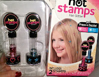 review Hot Stamps hair glitter tattoos As Seen On Tv trendy fashion decoration hairstyle