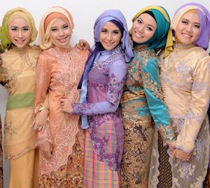 6+ Model Kebaya Hijab Modern Terbaru Paling Populer 2018