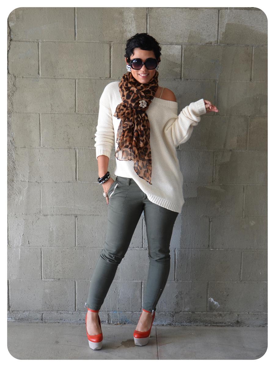 Ootd Off Shoulder Sweater Basics Fashion Lifestyle