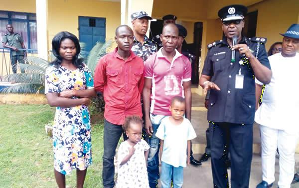 Police Return Abducted Children Sold For N200,000 To Parents