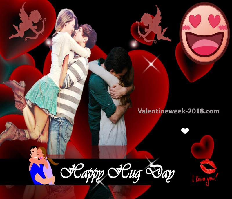 Happy Hug Day Images 2018