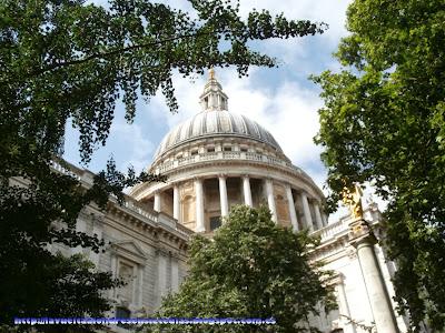 Cúpula de la catedral de San Pablo en Londres