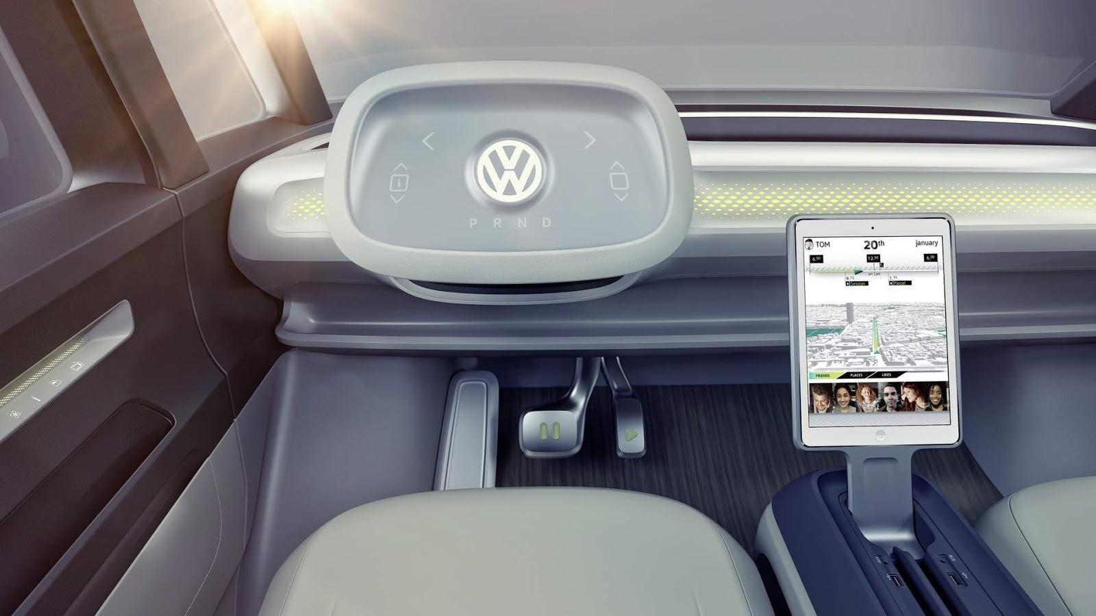 Volkswagen ID.Buzz autônomo chegará ao mercado em 2025