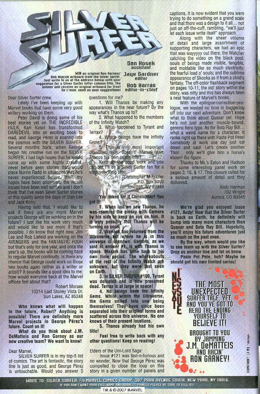 Read online Silver Surfer (1987) comic -  Issue #126 - 34