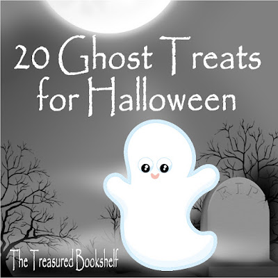 Forget dressing up and going out, sit back and enjoy a Ghost treat and a good book instead. Enjoy a little ghostly treat for Halloween with these 20 Ghost Treats perfect for your Halloween reading.