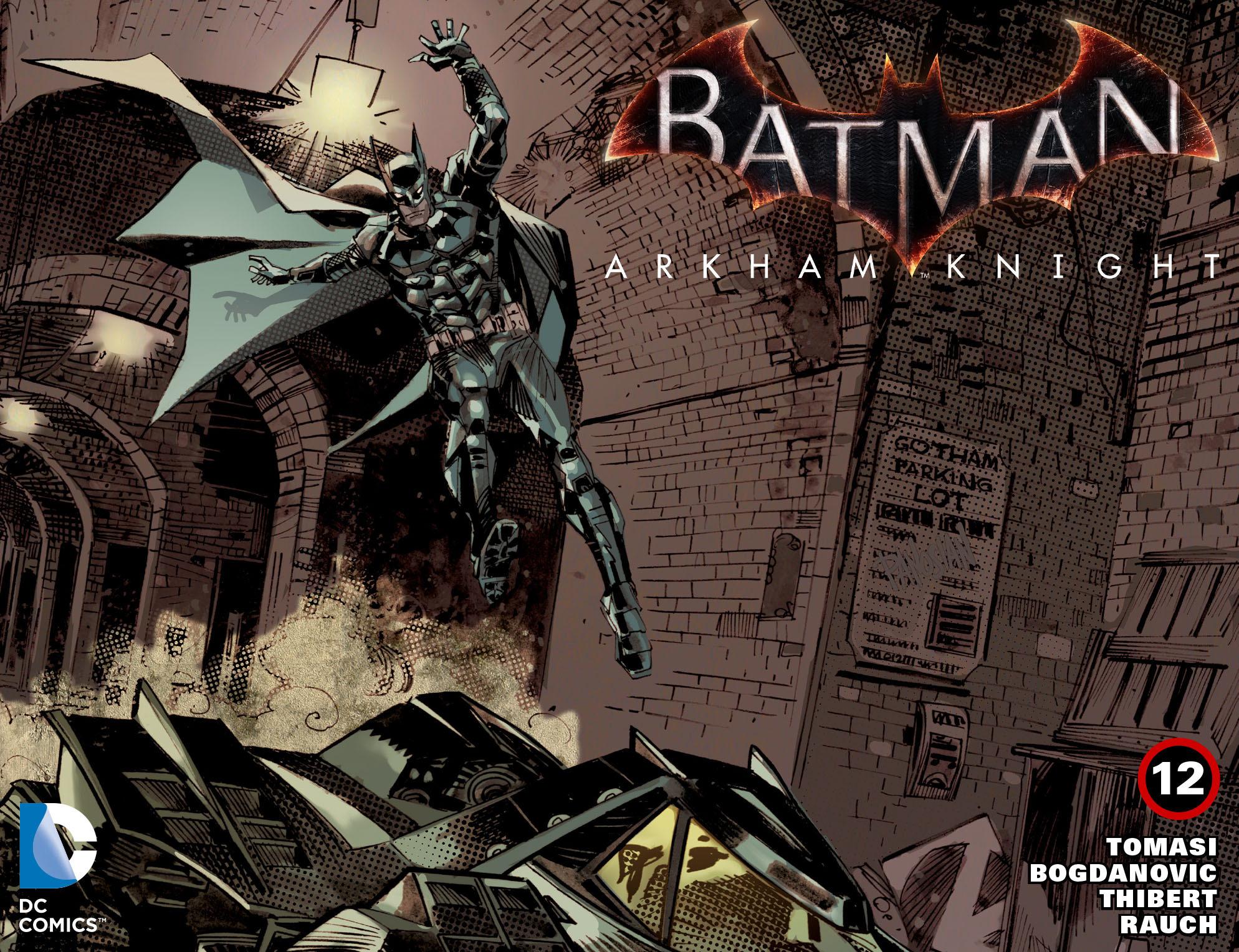 Batman: Arkham Knight [I] 12 Page 1