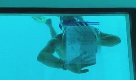 Man dies while proposing to his Girlfriend underwater