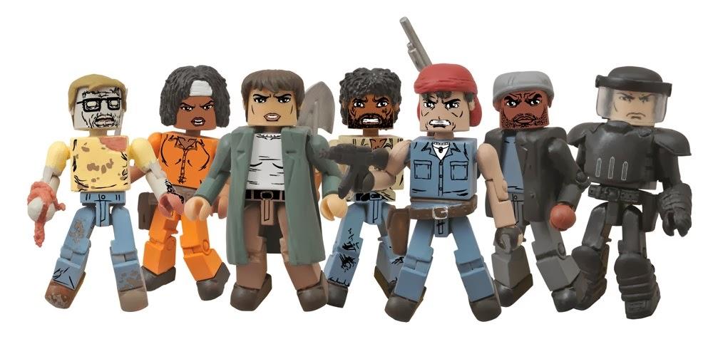 The Walking Dead Minimates Series 5 - Comic Shop Assortment