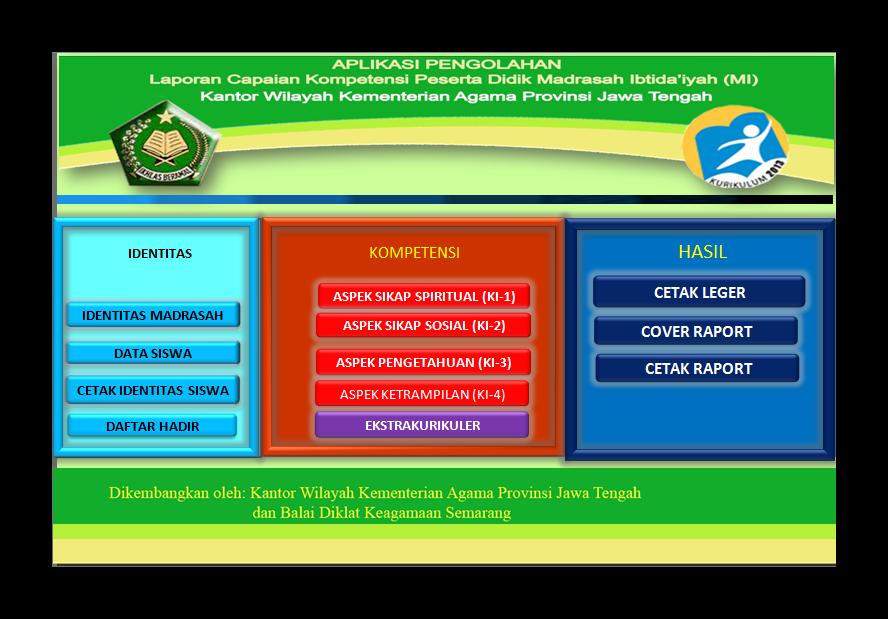 Aplikasi Rapor SD/MI,SMP/MTs dan SMA/MA