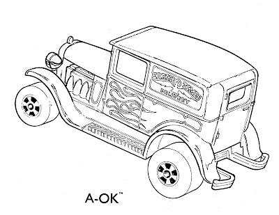 Desenhos De Carros Da Hot Wheels Para Colorir Carrinhos Hot