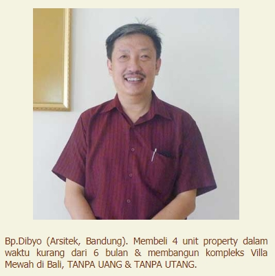 Testimoni Bp. Dibyo