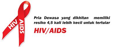 Infeksi HIV Bisa Di Cegah Dengan Sunat