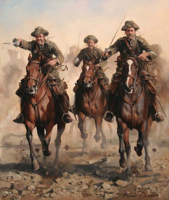96 años de la carga del Regimiento de Caballería Alcántara