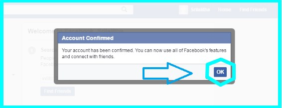 how to create facebook account step by step