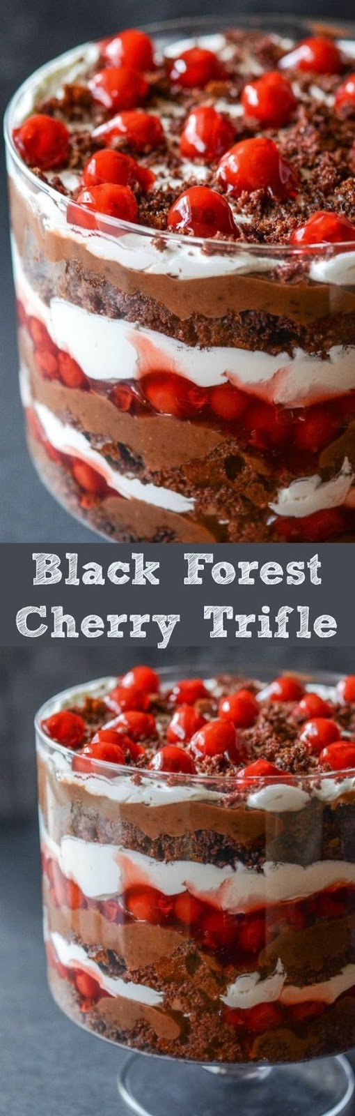 Black Forest Cherry Trifle
