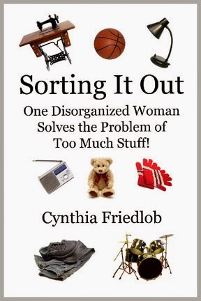 Unclutter with Cynthia's book!