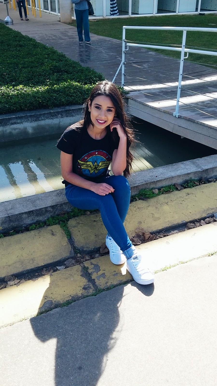 Look do dia: Calça Jeans + T-Shirt