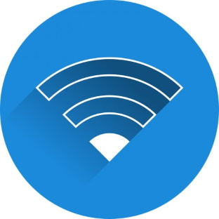 Internet broadband very slow signal speed icon