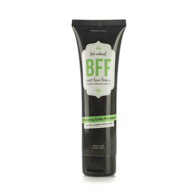 bff exfoliating face wash