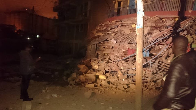 seven-storey building collapsed early Tuesday morning in Kenya