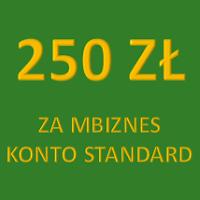 250 zł za mBiznes konto standard od Bankier.pl i mBanku